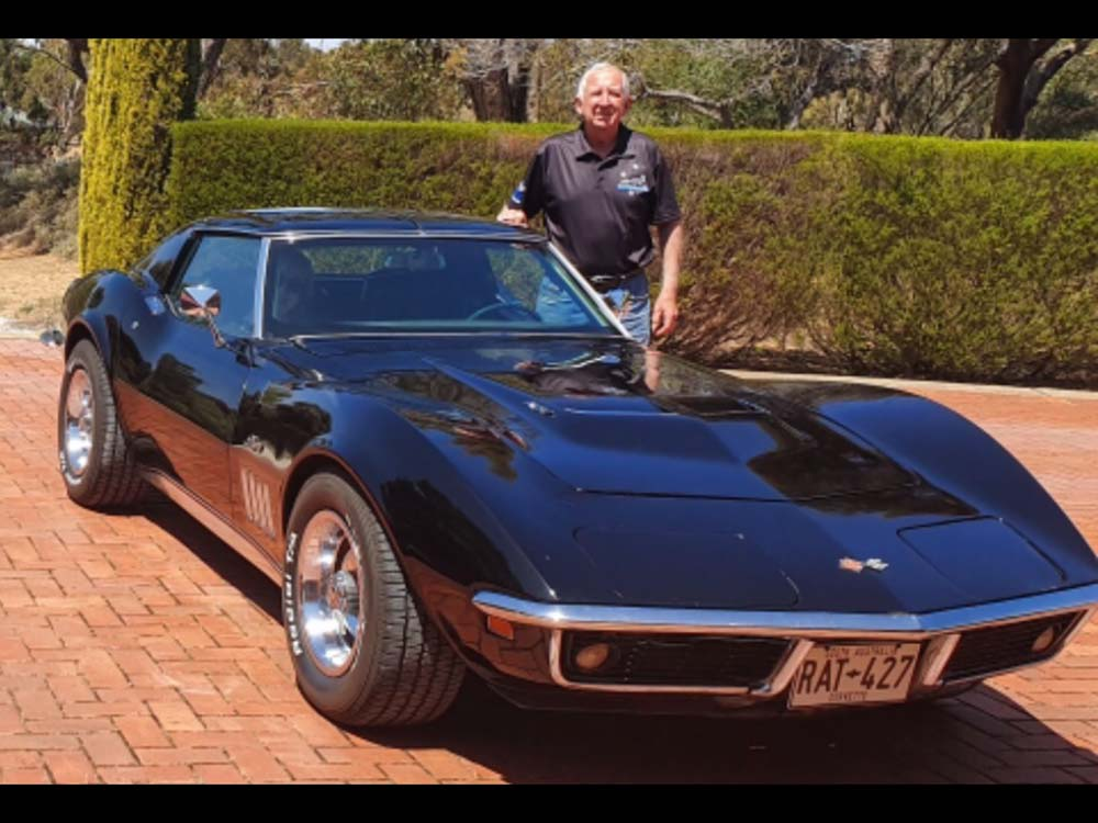 Gerry and Lyndall's Corvette
